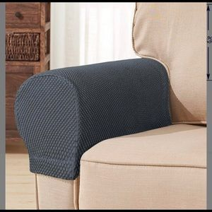 NEW in Package Grey armrest covers